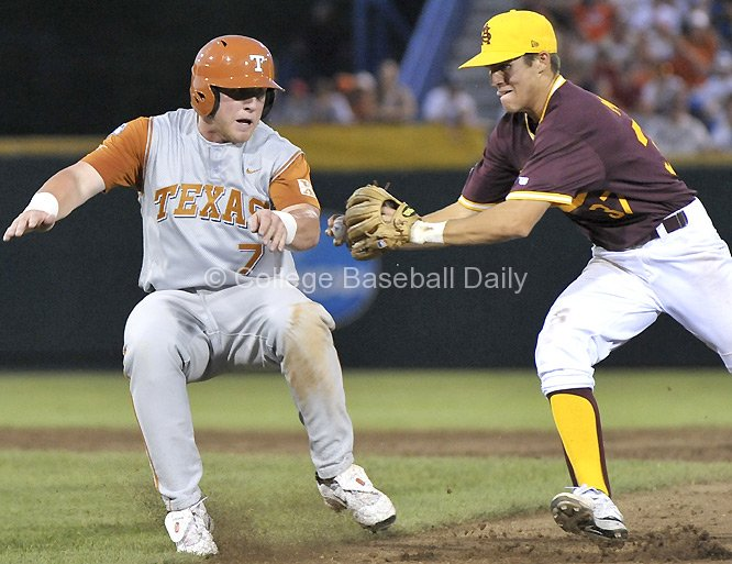 Arizona State sported these in the 2009 CWS