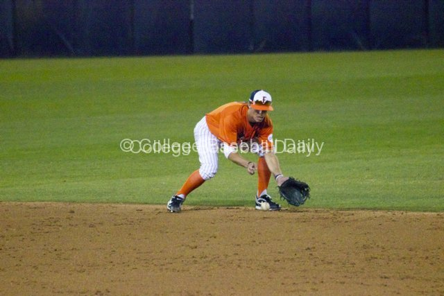 Matt Orloff fields a grounder.
