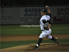 Shawn Stuart pitched nine innings.