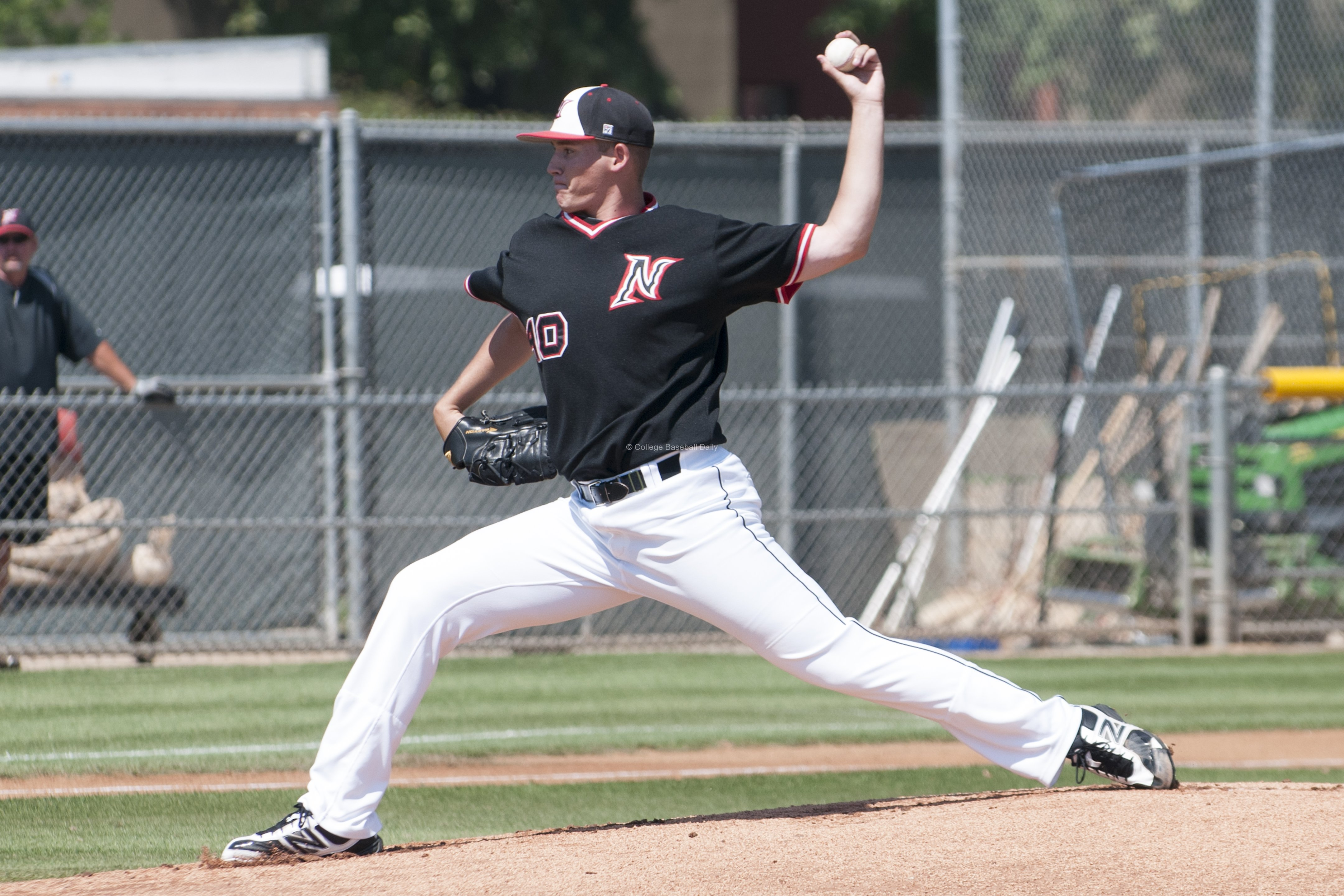 Jerry Keel took a no decision after eight scoreless innings.