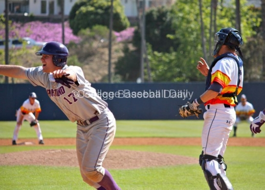 Just How Close Was Portland's Winning Run Sunday at Pepperdine?