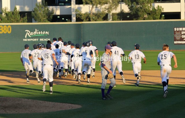 UCI walked-off with a doubleheader sweep.