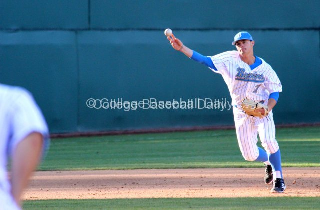 Kevin Kramer had the big hit against USC.