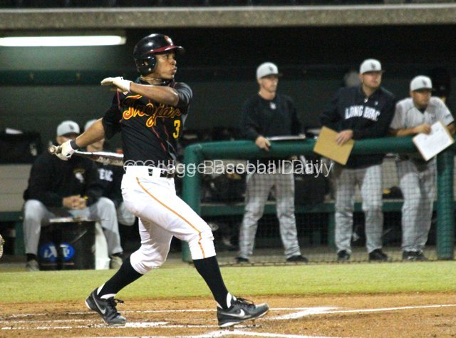 Dante Flores had three hits.