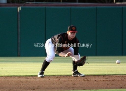 USC Infielder Adam Landecker Out for the Season