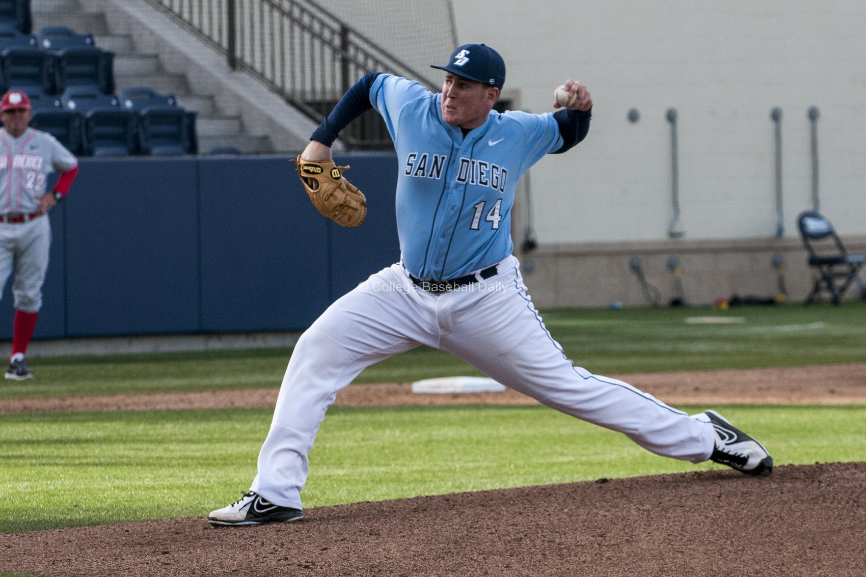Troy Conyers, gave the Torero's 3 strong innings