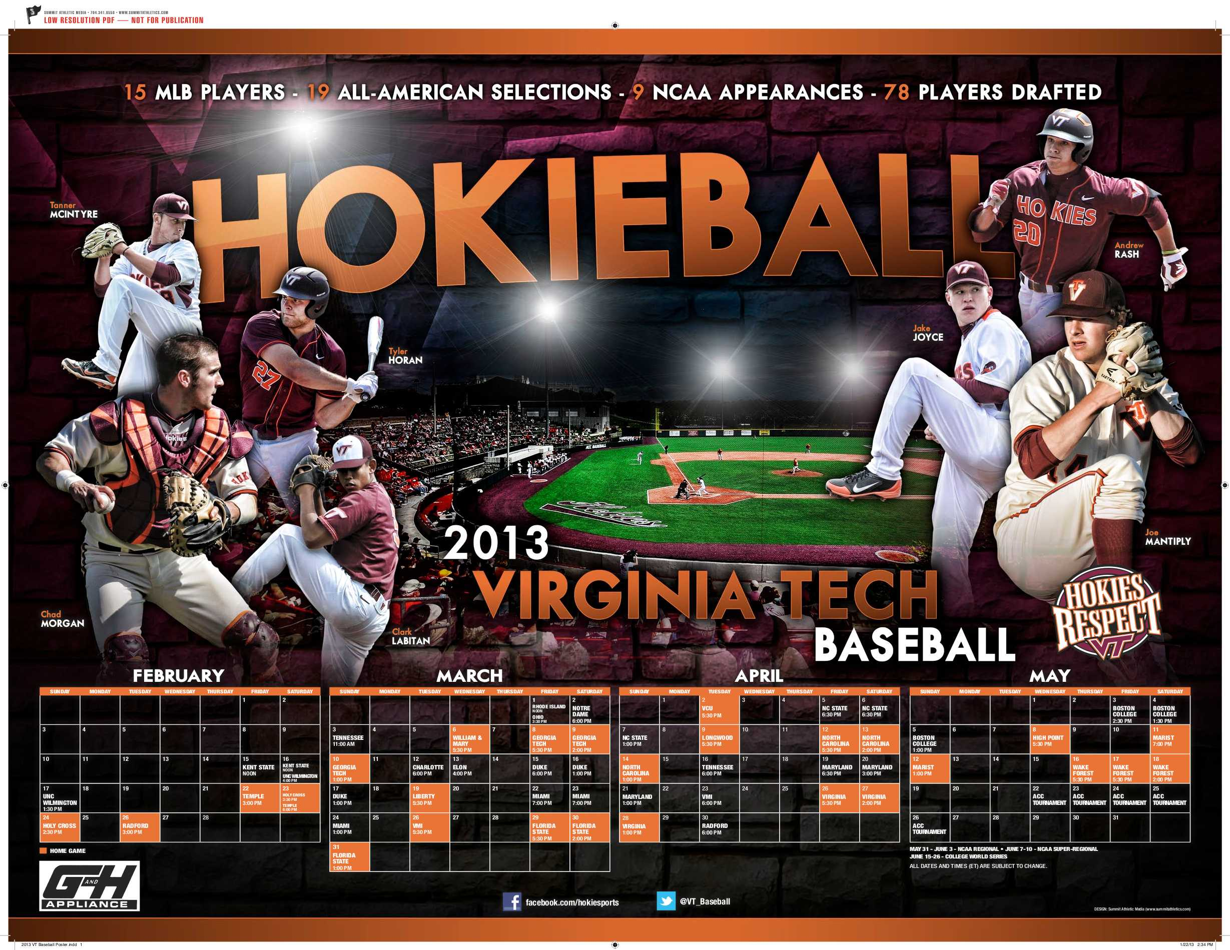 2013 VT Baseball Poster-1