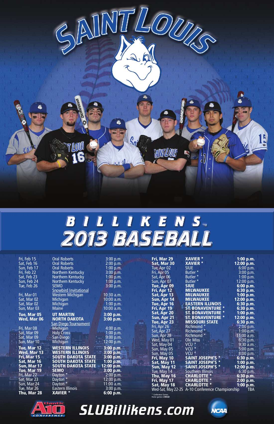 2013Saint Louis BB Poster