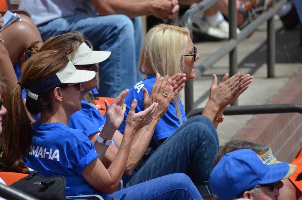 Gauchos fans attempt to give their team a boost. (photo by Aaron Yost)