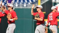 North Carolina State defeated in state rival North Carolina 8-1 in each team's opening game of the 2013 College World Series. (Full Recap here) Here are some of the best...