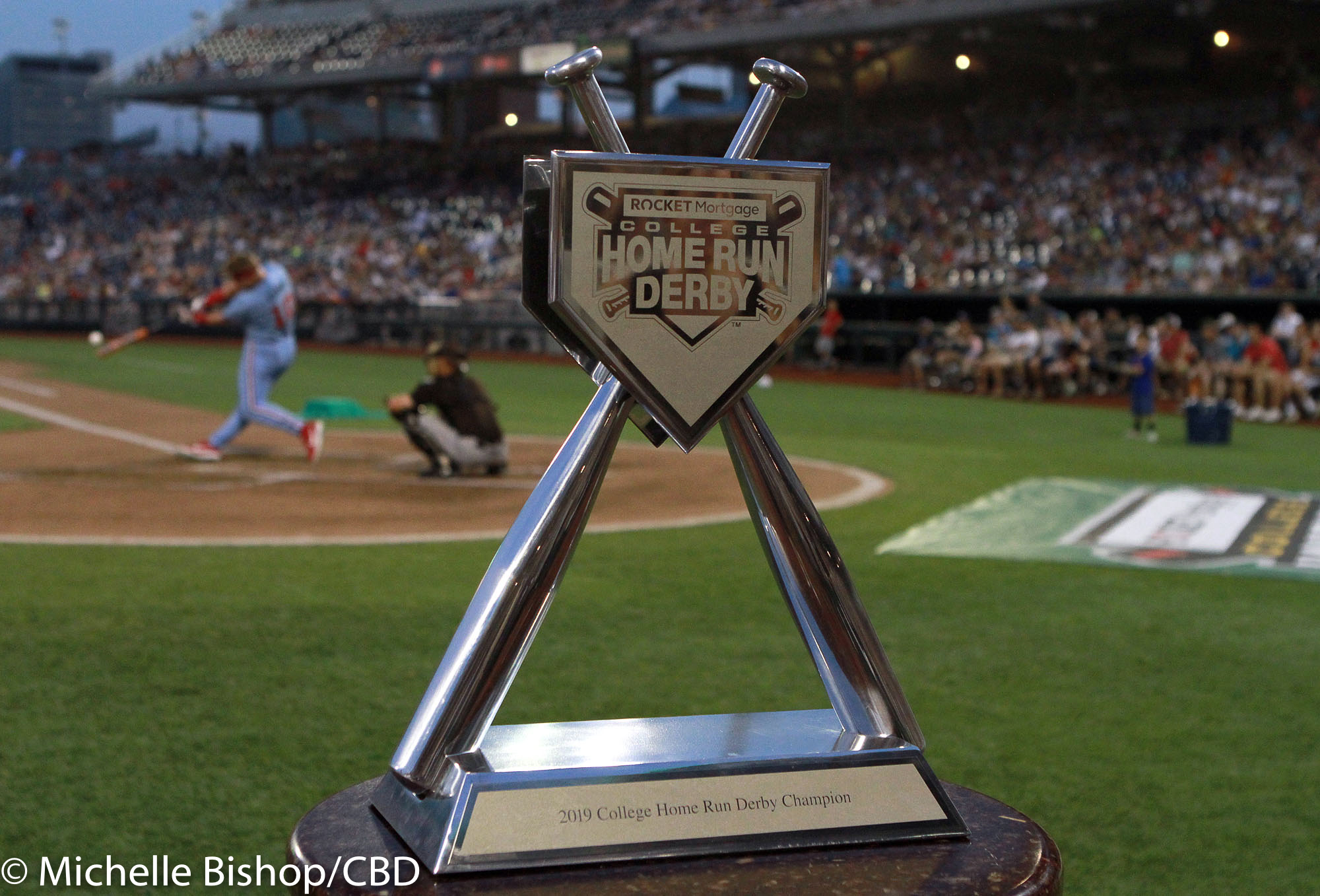 Home Run Derby Predictions 2020.Cbd Photo Gallery Griffin Doersching Wins 2019 College Hr