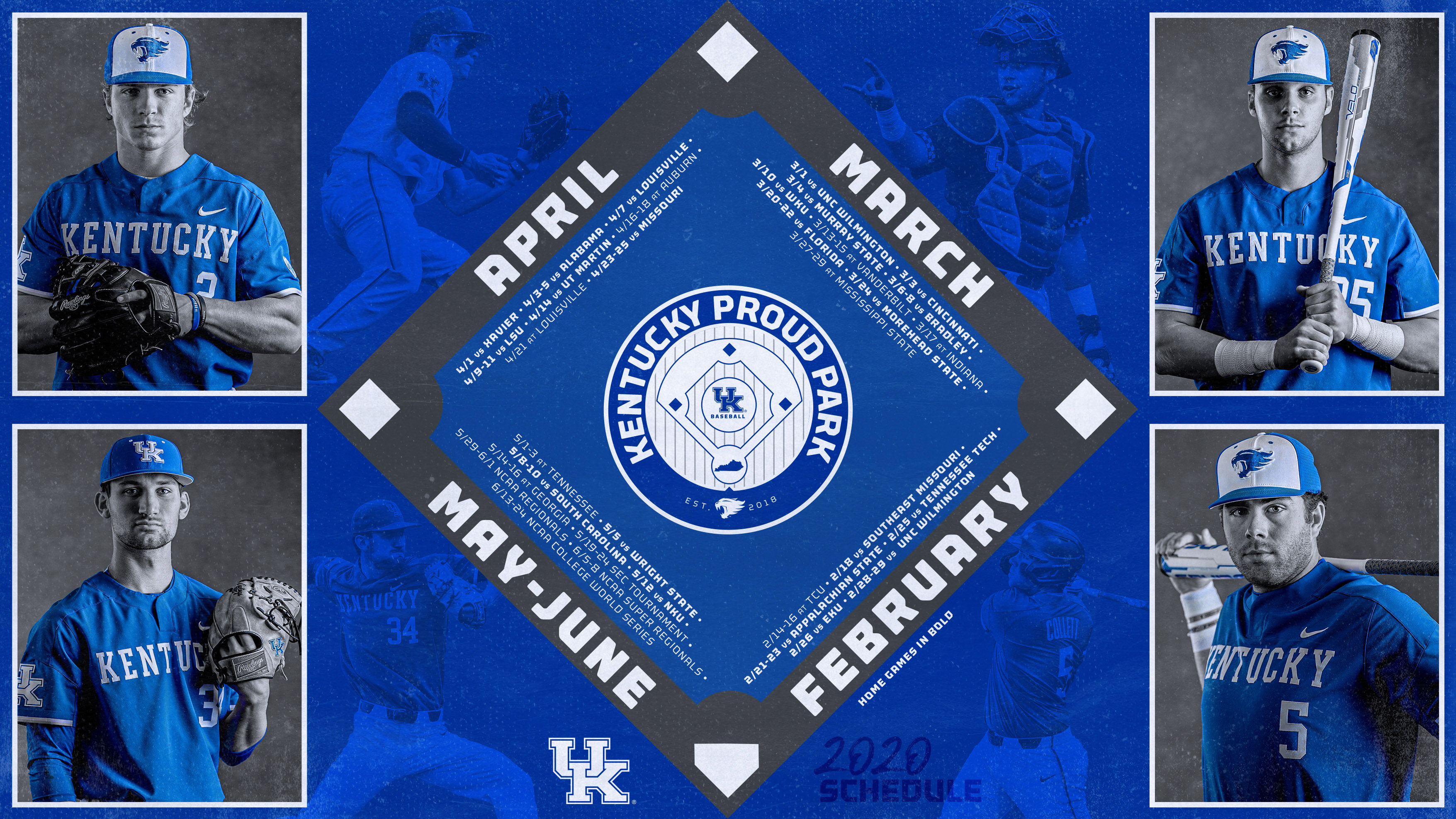 Kentucky Releases 2020 Schedule College Baseball Daily